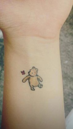 Winnie the Pooh.... OHMYGAWWWDDD. I need to have this one done.