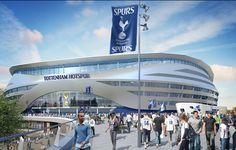 Spurs seek public funds to revamp White Hart Lane after Olympic Stadium snub Football Stadiums, Sport Football, Soccer, Nfl Matches, London Neighborhoods, Tottenham Hotspur Football, Spurs Fans, White Hart Lane, Sports
