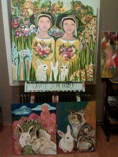 Paintings by Laurie Jean Kramer
