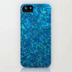 Sparkley Grunge Relief Background G212 by MedusArt iPhone & iPod Case #Society6 #iPhone #Case #Sparkley #Grunge #Relief #glitter #blue