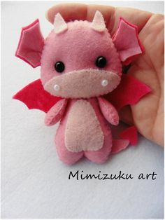 felt dragon Welcome to my store! All my creations are made with love. All work is cut and sewn by hand with high quality felt or fabric and hypoallergenic polyester filling. It is a work o Felt Crafts Diy, Felt Diy, Sewing Crafts, Fabric Crafts, Felt Christmas Ornaments, Christmas Crafts, Christmas Tree, Fall Crafts, Christmas Dragon