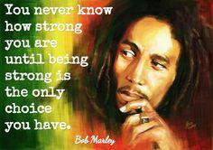 Discovering Bob Marley...