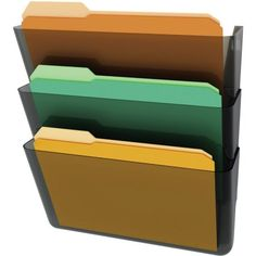 Free 2-day shipping on qualified orders over $35. Buy deflecto Stackable DocuPocket Letter Wall Pockets at Walmart.com
