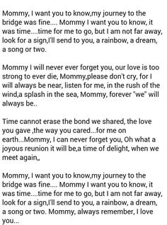 Poem about a cat who went to the Rainbow Bridge