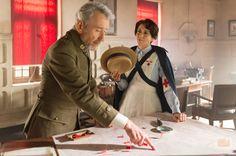 Alicia Borrachero y Pepe Sacristán  en 'Tiempos de Guerra'