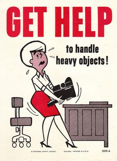 Collectable Vintage National Safety Poster  Get Help by niminsshop, $14.95