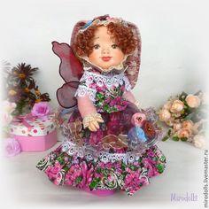 Купить Зайка Фея.Зайка тедди-долл.Коллекционная кукла.Интерьерная игрушка - зайка