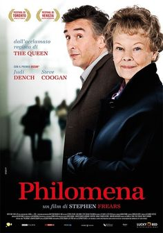 Nuevo poster de la película Philomena http://evpo.st/1aZSuv5 de Stephen Frears, con Judy Dench y Steve Coofan.