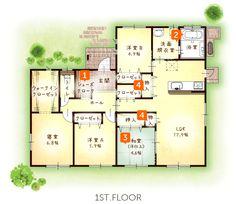 30坪・4LDK 平屋住宅 モデルハウス 熊本市南区城南町宮地 | 適正な住宅価格で快適な間取りの新築一戸建てを熊本で建てる