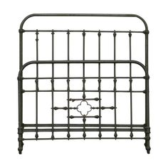 Cast Iron Three-Quarter French Bed