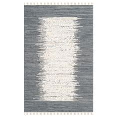 $68  for 6x9 - Define your space with a Safavieh, Bettina Flatweave Rug. Boasting a bold, eye-catching border and a timeless hand-woven design, this versatile accent rug with fringe trim makes the perfect addition to your contemporary or classic décor. The hand-woven, pure cotton construction is soft, durable and effective at catching dirt. A must-have on hard-surface floors throughout your home. Available in a variety of sizes to expertly fit your floor plan.