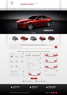 MAZDA occasion on Behance