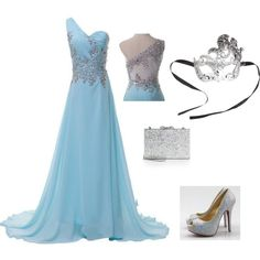 """Masquerade Outfit"" by amanda-368 on Polyvore"