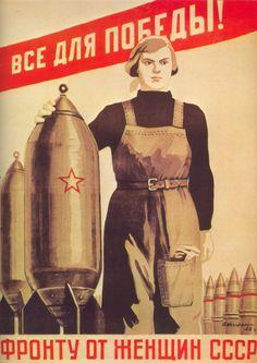 Russia WW2 Poster