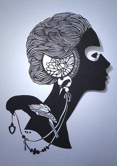 profile By Anatoly Vorobyov. Amazing paper cutting skills
