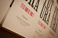¿Como hacer un cartel sobre la Futura? (… sin Futura)