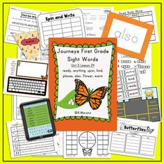 Journeys first grade sight words lesson 24