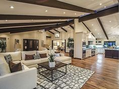 """This gorgeous modern California Ranch style architectural estate is in the exclusive community of Rolling Hills. Approximately 14,374 sq ft of luxurious living space designed by renowned Cliff May. The owner states that 2 million+ was spent to remodel/upgrade the home in 2010 while staying true to it's modern """"California Ranch"""" architectural heritage. #zillow"""