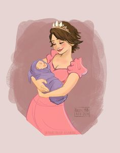 Image uploaded by Find images and videos about baby, rapunzel and tangled on We Heart It - the app to get lost in what you love. Rapunzel And Eugene, Tangled Rapunzel, Disney Tangled, Rapunzel Story, Disney Couples, Disney Family, Baby Disney, Arte Disney, Disney Fan Art