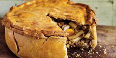 """Timballo di maccheroni del Gattopardo"" Antonio Carluccio serves up an opulent timballo, or macaroni pie recipe. This Italian celebration pie hails from Sicily, and was inspired by a timballo described in the 'The Leopard'."