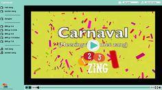 Carnaval-liedje: Carnaval hoera hoezee met lesbrief en karaoke Zeer geschikt voor de klas!