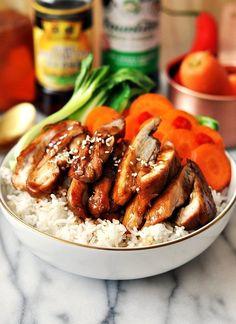 5 Ingredients Honey Soy Chicken (A Gluten Free Recipe) @FoodBlogs