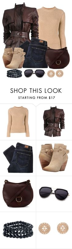 """Untitled #1234"" by gallant81 ❤ liked on Polyvore featuring Joseph, Tom Ford, Paige Denim, Pelle Moda, Frye, 2028 and Chanel"