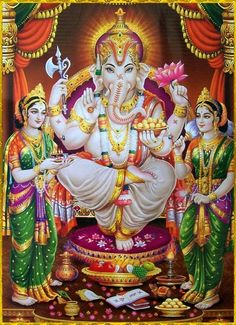 Offer Doorva green 8 leaves  to lord Ganesha to fulfil the desire.