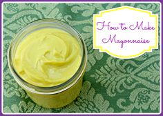 Learn how to make mayonnaise. This homemade mayonnaise is made with healthy oils…
