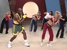 Billy Blanks Tae Bo  -- BILLY BLANKS is the BEST!!!  Best workout EVER.  I'm trying to gear up to do this again!! Was in best shape of my life when I did this 3-5x/wk!