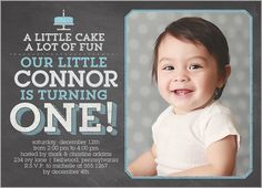 107 best baby boys 1st birthday invitations images on pinterest little cake boy first birthday invitation filmwisefo