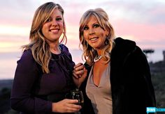 Briana Wolfsmith, Vicki Gunvalson I really like Brianna's hair color when she had low lights put in but I need to find a better picture