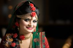 #nancyavon from www.bit.ly/jomfacial Sharing a light moment with your love dear! Bangladeshi Bride by serioussaimoom