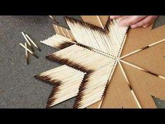 Used matchstick into room decor | DIY | Crazy Craft