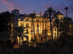 Hotel Alfonso XIII, Seville - Visited here on our walking tour. Built for the 1929 South American Expo and still the place royalty and dignitaries stay when visiting Seville.