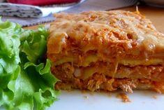 Lasagnes au thon, tomates et ricotta