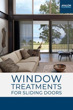 Get our top picks for the perfect window treatment for your sliding glass door to make sure you have privacy when you need it and a stylish upgrade to your space!