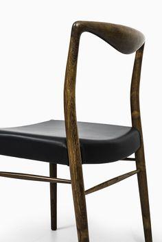 Kai Lyngfeldt-Larsen dining chairs in rosewood at Studio Schalling
