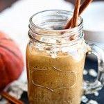 Pumpkin Oatmeal Breakfast Smoothie | Good Life Eats -- try adding almond butter