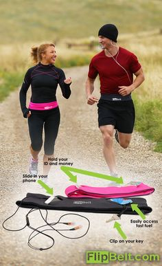 The must have accessory for any fitness fan in your family. Carry all your essentials hands free! Fits all size phones! Baile Jazz, Flip Belt, Running Belt, I Work Out, Work Hard, Marathon Training, Workout Gear, Workouts, Get In Shape