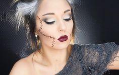 E R I C A G A M B Y (@ericagamby) B R I D E O F F R A N K E N S T E I N  Halloween makeup