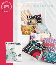 Sneak Peek: Heart Home Magazine Spring 2013