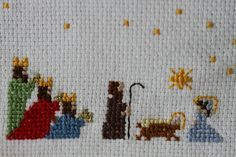 THE THREE KING IN CROSS STITCH - Buscar con Google