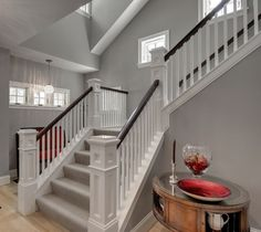 Classic with a Twist: Wood Balusters - How to Create a Fresh Staircase