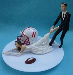 Wedding Cake Topper... I love this.