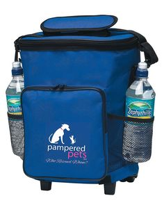 Pampered Pets 18 Can 'Who Rescued Whom' Rolling Cooler, Royal Blue *** Special  product just for you. See it now! (This is an amazon affiliate link. I may earn commission from it)