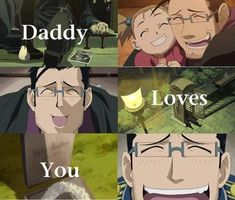 Hughes :'( I still cry every time I watch both of the scenes in the original fma and fma brotherhood.