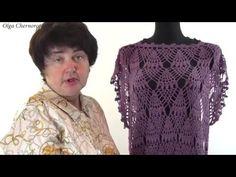 Узор к очень красивой кофта. Pattern in a very beautiful jacket - YouTube