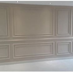 Home Room Design, Home Interior Design, Living Room Designs, Living Room Decor, Moldings And Trim, Moulding, Living Room Panelling, Wainscoting Styles, Wall Trim