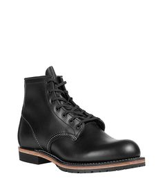 Black Beckmann Round Toe Boot